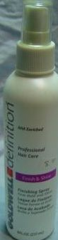 Goldwell Definition Finish and Shine  36 oz