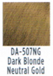 Dream Age Socolor DA507ng  Dark Blonde Neutral Gold  3 oz