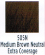 Socolor Color 505n Medium Brown Neutral Extra Coverage  3oz