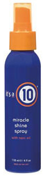 Its a 10 Miracle Shine Spray  4oz