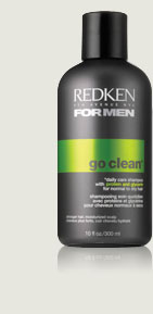 Redken for Men Go Clean Daily Invigorating Shampoo 101oz