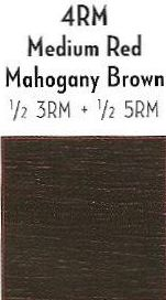 Scruples TrueIntegrity Color 4RM Medium Red Mahogany Brown 205oz