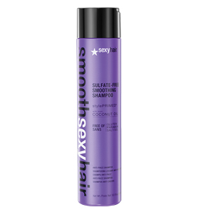 Smooth Sexy Hair Sulfate Free AntiFrizz Smoothing Shampoo  101 oz