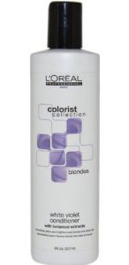 Loreal White Violet Color Depositing Conditioner 8 oz
