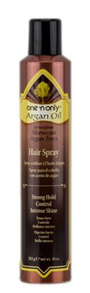 One n Only Argan Oil Hairspray Strong Hold Control Intense Shine 10oz