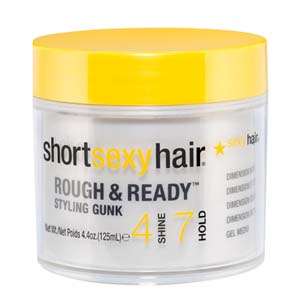Short Sexy Hair Rough  Ready Styling Gunk 44oz