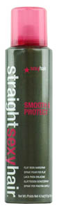 Straight Sexy Hair Smooth  Protect Flat Iron Hairspray  41 oz