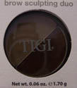 Tigi Bed Head Brow Sculpting Duo Brunette  006 oz