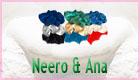 Neero & Ana Organic Satin Scrunchies