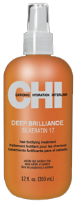 CHI Deep Brilliance Silkeratin 17 Hair Fortifying Treatment  12oz