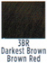 Socolor Color 3BR Darkest Brown Brown Red