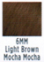 Socolor 6MM Light Brown Mocha Mocha
