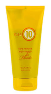 Its a 10 Ten Five Minute Hair Repair For Blondes  5 oz