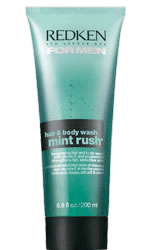 Redken for Men Mint Rush Hair and Body Wash 68 oz