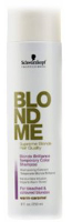 Blond Me Brilliance Temporary Color Shampoo Caramel  8 oz