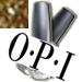 OPI Glim-merry Gold Glitter Top Coat Nail Polish 0.5oz-OPI Glim-merry Gold Glitter Top Coat Nail Polish