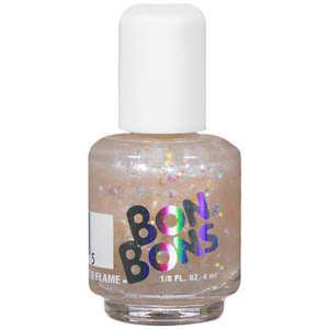 Bon Bons Nail Polish White Glitter  4ml-Bon Bons - White Glitter