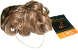 Short Curly Drawstring Ponytail Man Bun HR5b  27-Short Curly Drawstring Ponytail
