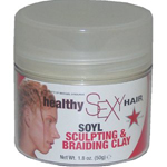 Healthy Sexy Hair Sculpting and Braiding Clay 1.8 oz-Healthy Sexy Hair Sculpting and Braiding Clay