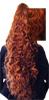 Pony Tail Clip On Hair Piece - Very Long Wavy Kuba 132-Pony Tail Clip On Hair Piece - Very Long Wavy Kuba