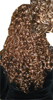 Forever Young Sophia Kaplan Long Curly Mona Lisa Clip On Hairpiece 10-Forever Young Sophia Kaplan Long Curly Mona Lisa Clip On Hairpiece