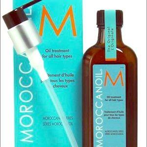MoroccanOil Treatment with Pump 4.23 oz-MoroccanOil Treatment with Pump